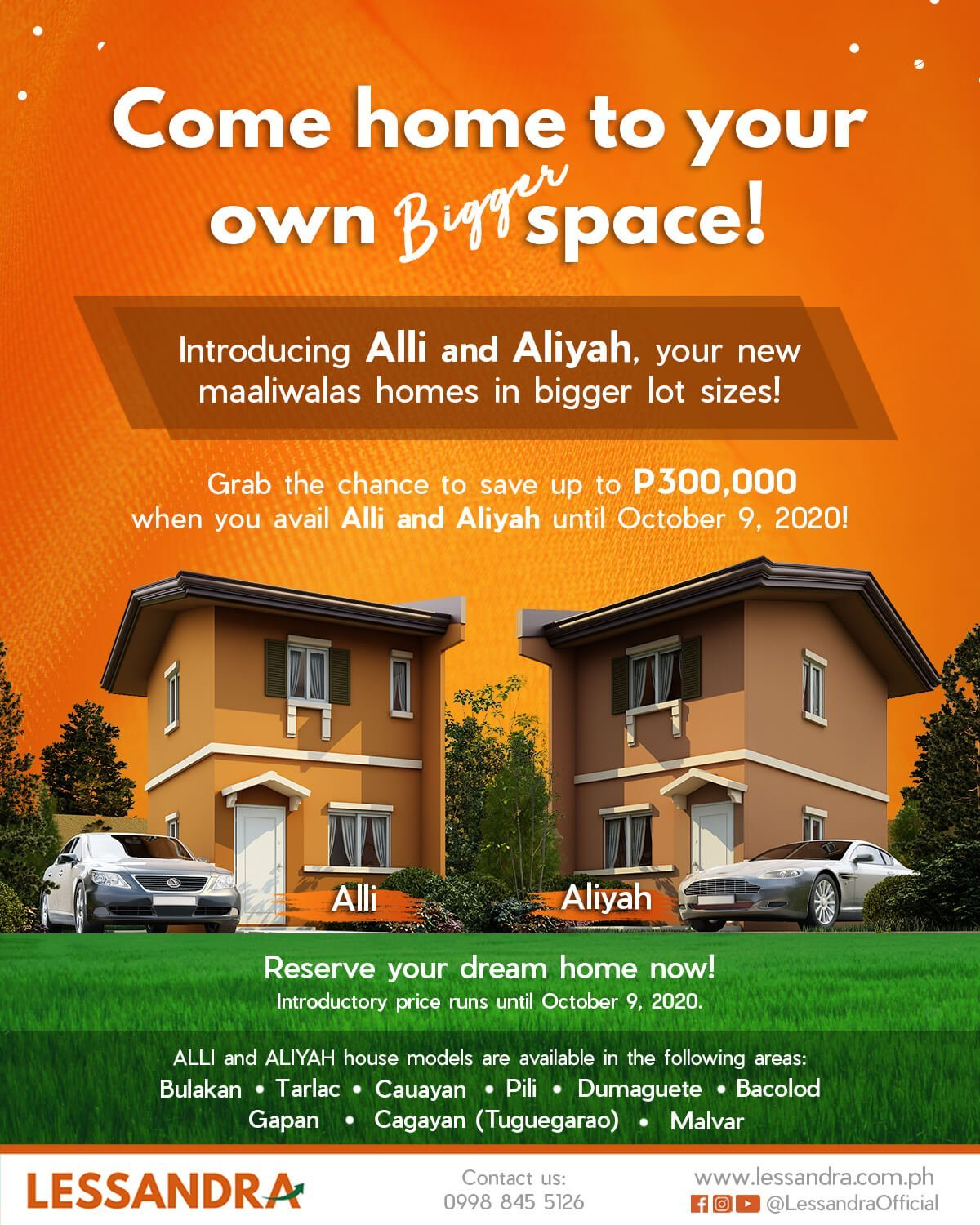 Lessandra Alli and Aliyah homes